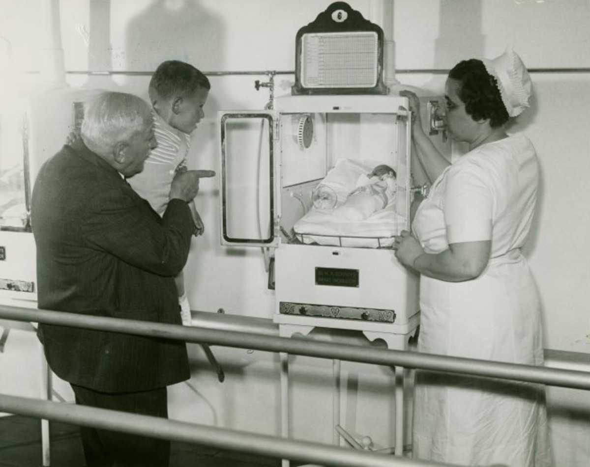 World's Fair Baby Incubator