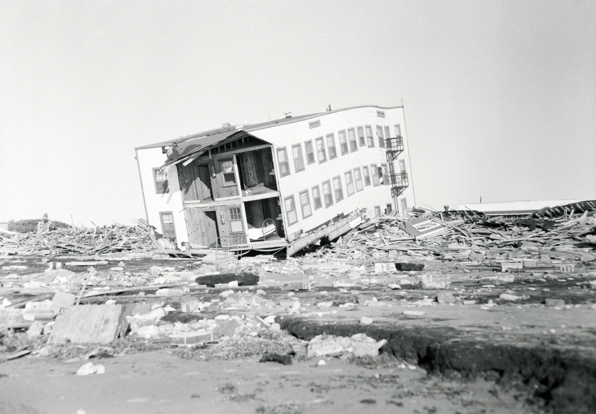 Hurricane Hazel Damage at Myrtle Beach