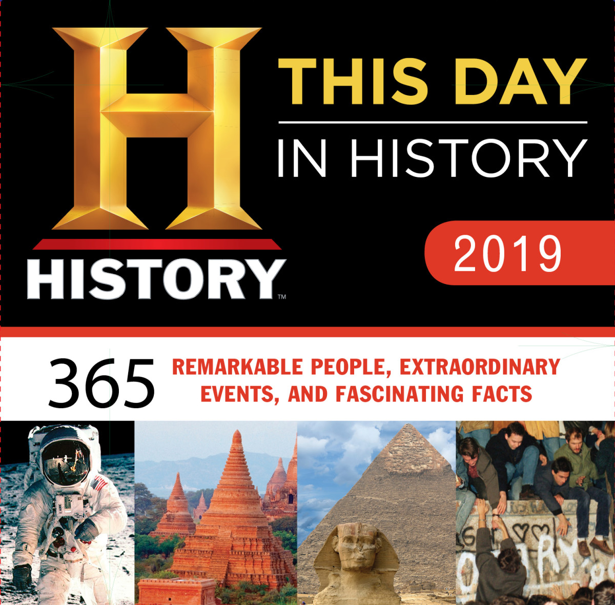 This Day in History Box Calendar