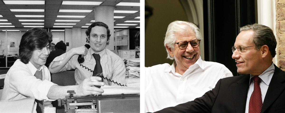 Bob Woodward and Carl Bernstein