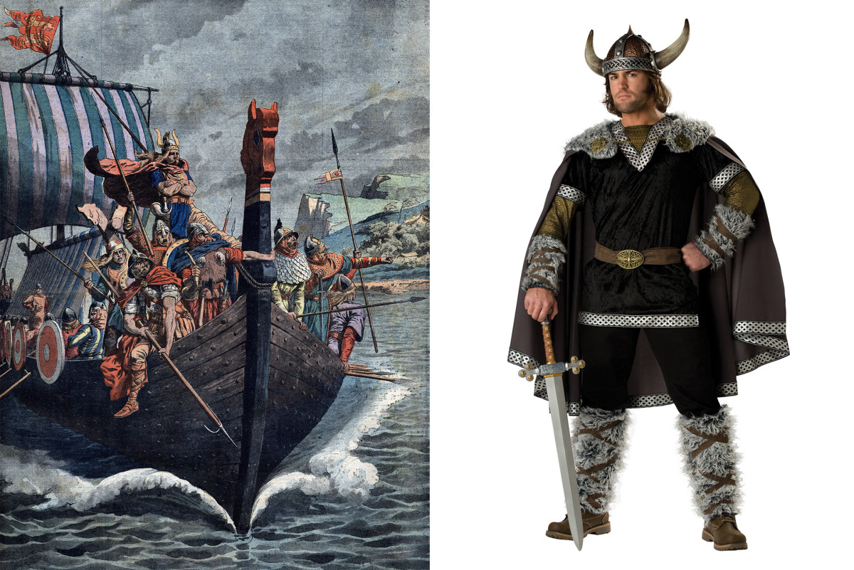 Viking Halloween Costume