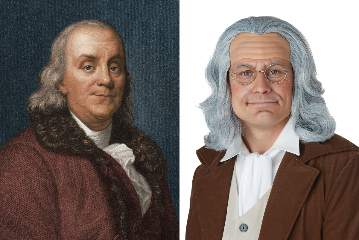 Benjamin Franklin Halloween Costume