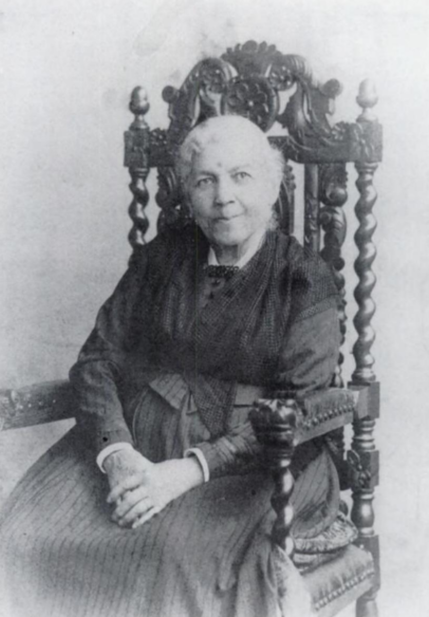 Harriet Jacobs, circa 1894.
