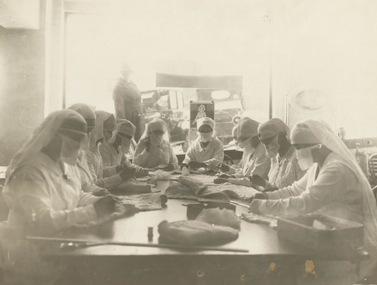 Red Cross 1918 Influenza