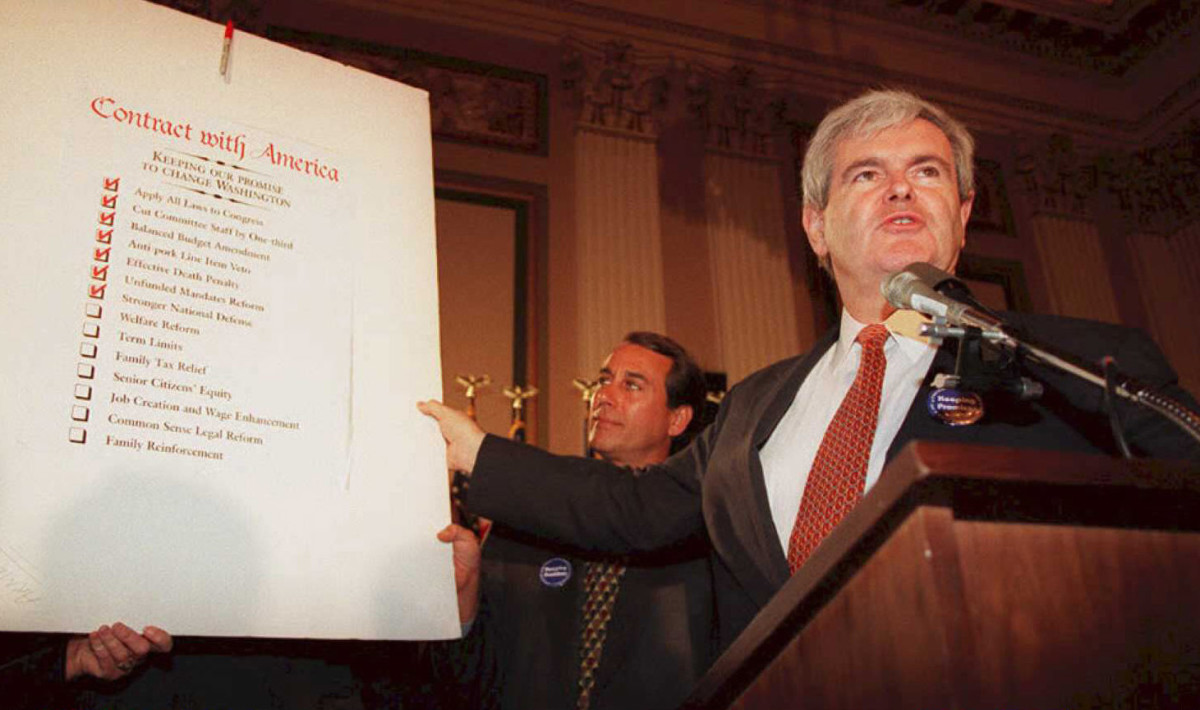Newt Gingrich Contract With America