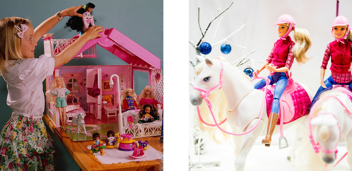 Barbie Dream House and Barbie Dream Horse