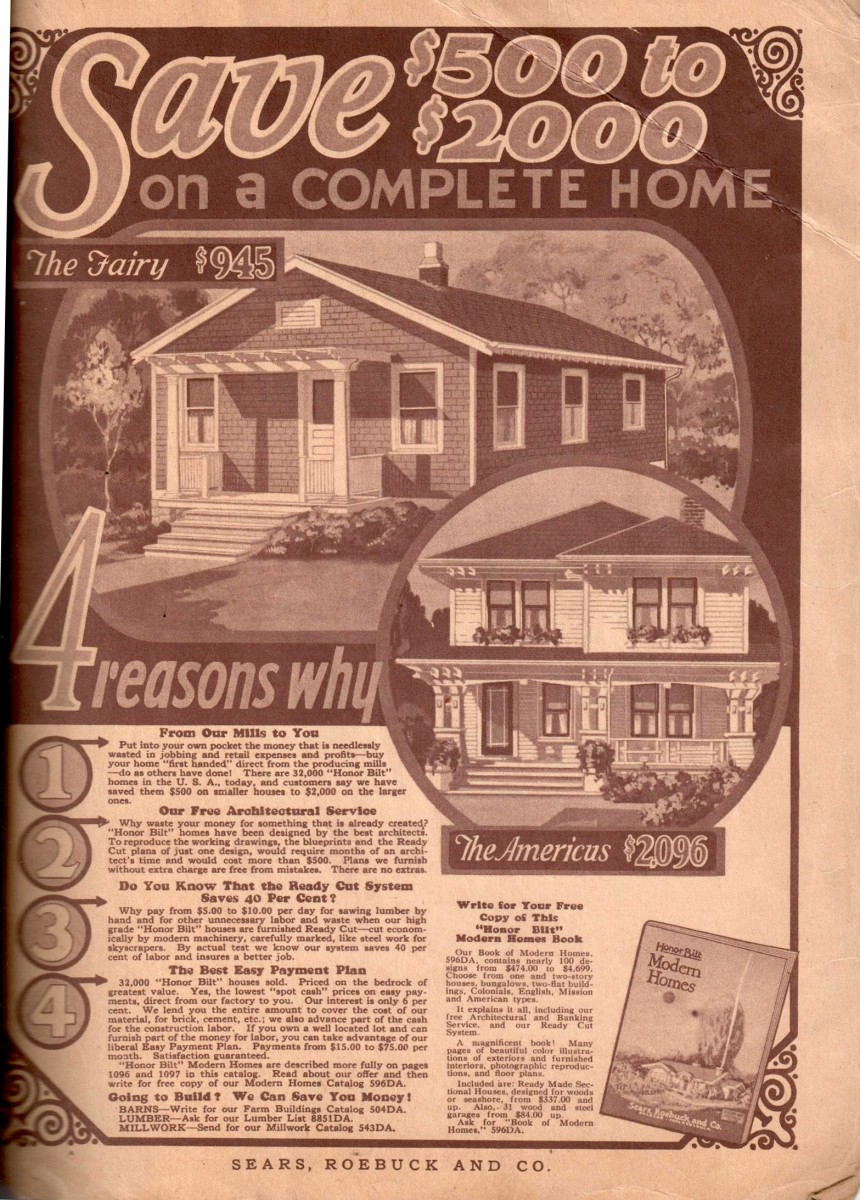 Sears Catalog Home
