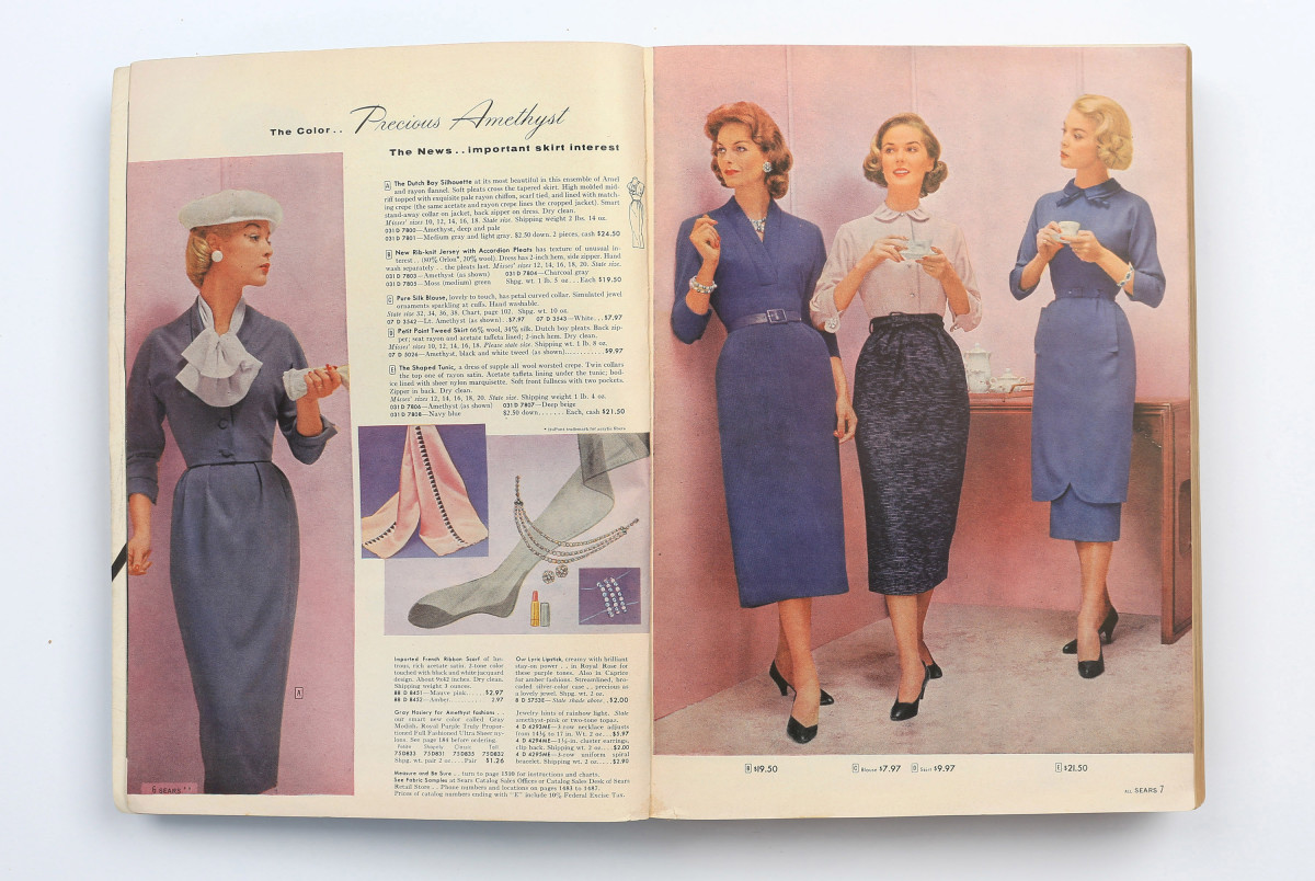 Image result for 1940s catalog shopping