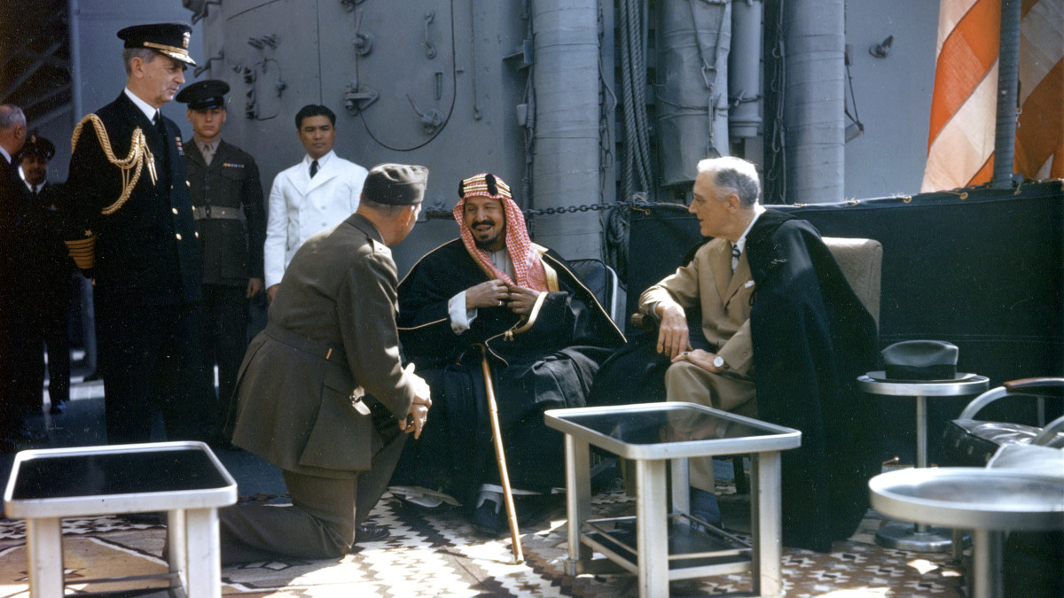 How FDR Charmed a Saudi King and Won U S  Access to Oil