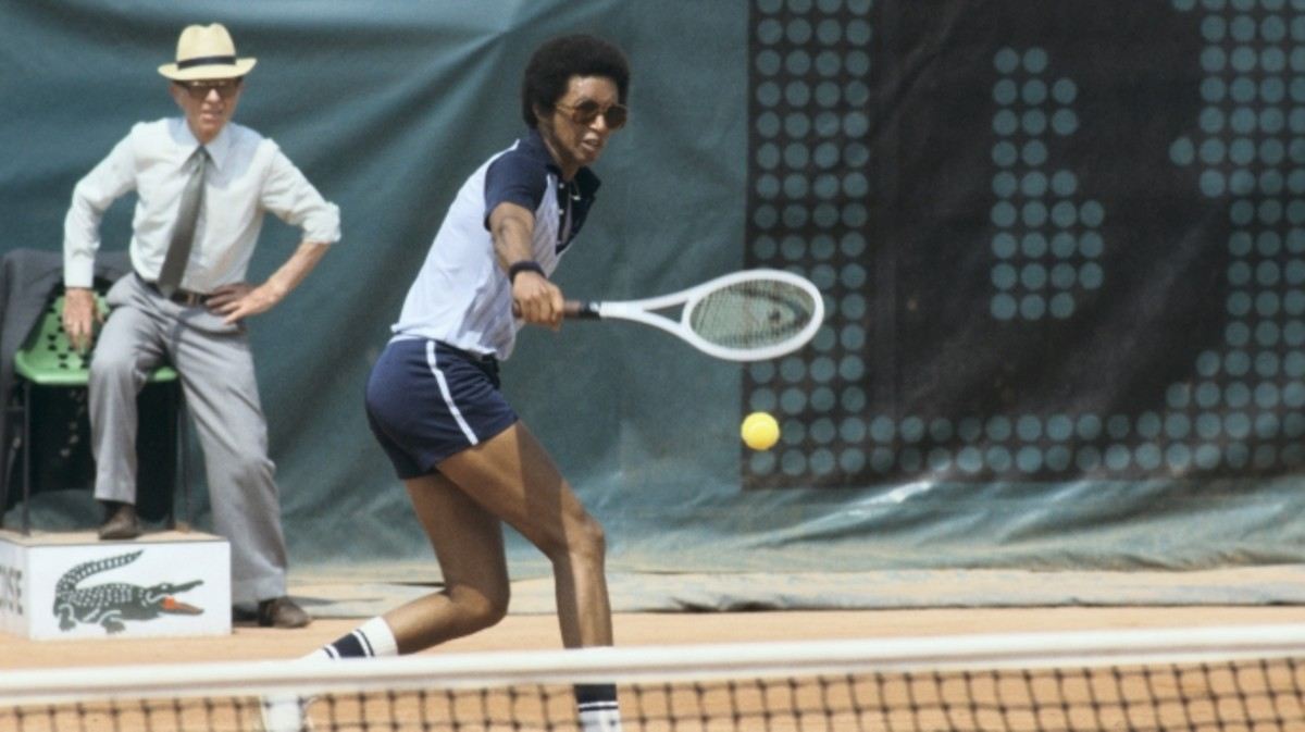 Roland Garros, Arthur Ashe, In June 1978.