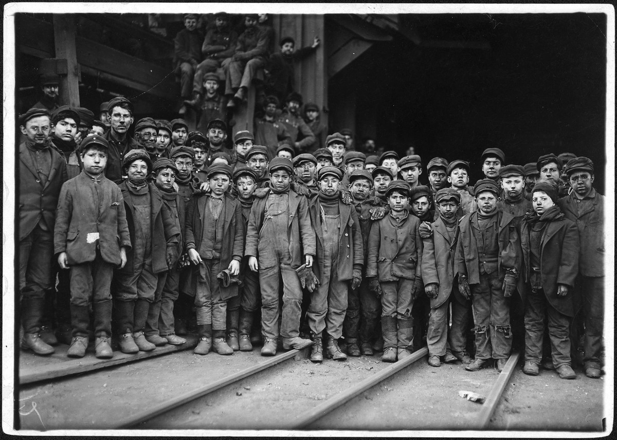 Lewis Hine Child Labor Photos