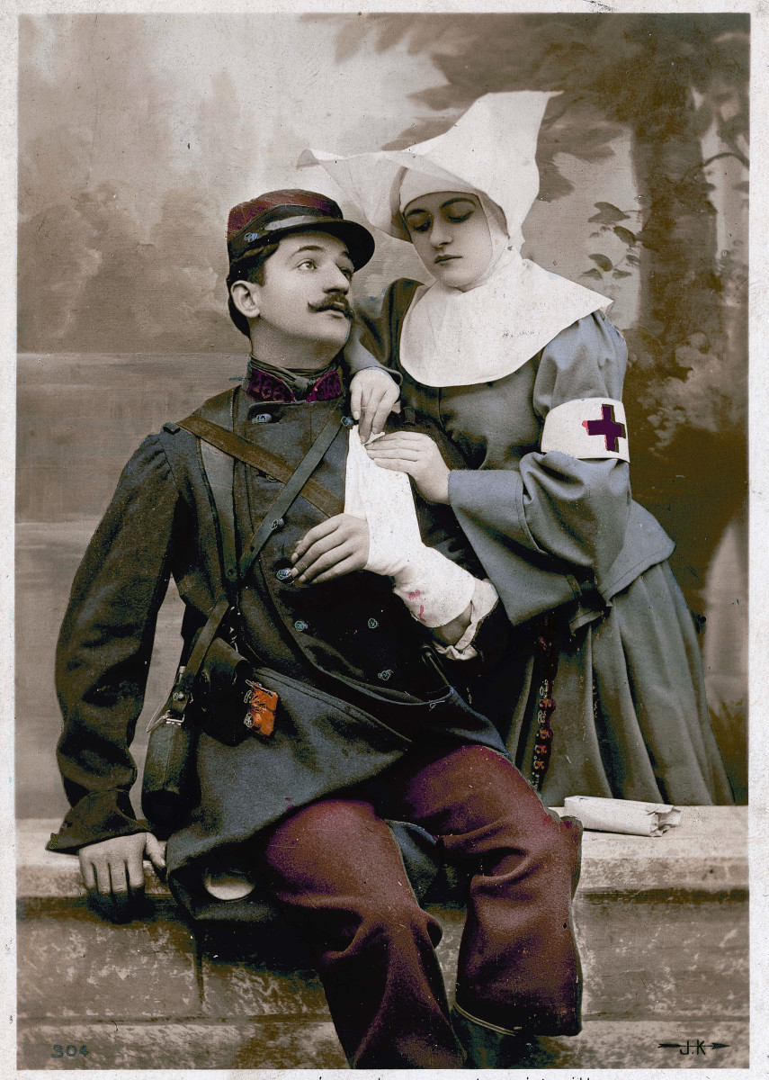 WWI Red Cross