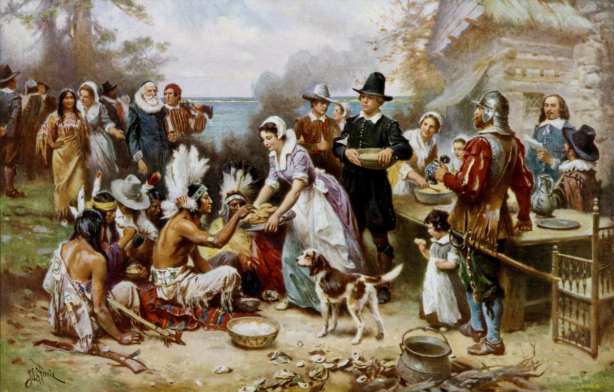 Thanksgiving Celebration at Plymouth Colony