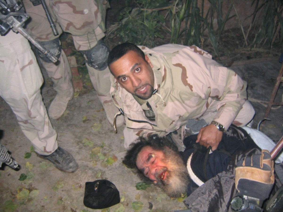 Capture of Saddam Hussein
