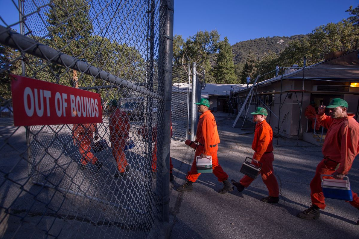California Inmate Firefighters
