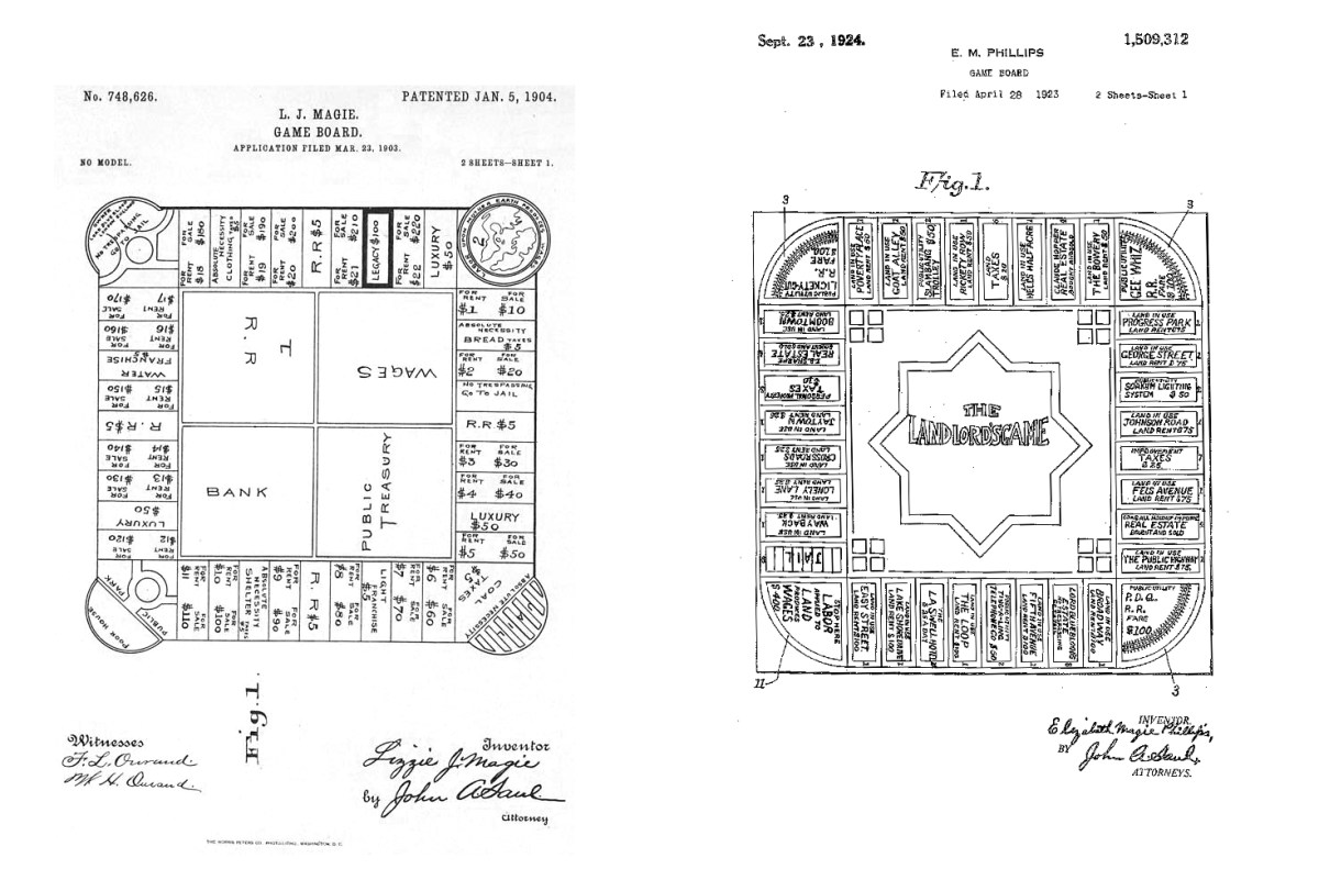 Landlord's Game Patent