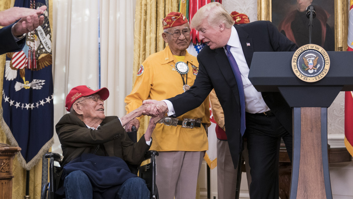 One of the Last Navajo Code Talkers, Whose Native Tongue Stumped WWII Enemies, Has Died
