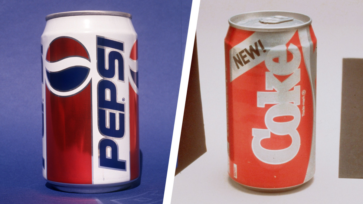 How the 'Blood Feud' Between Coke and Pepsi Escalated During the 1980s Cola Wars