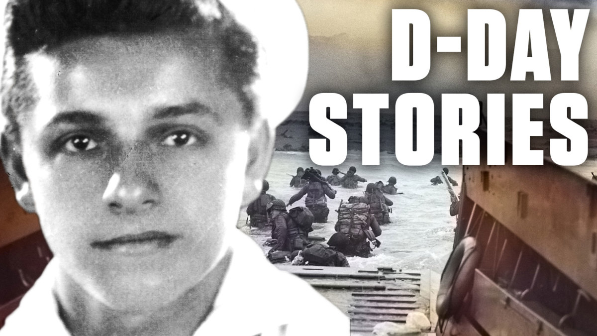 Frank DeVita was in charge of lowering the ramp on the USS Samuel Chase on D-Day. The role would haunt him for the rest of his life.
