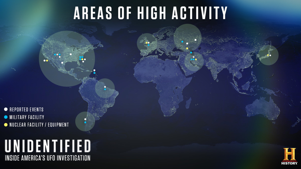 UFO Sightings Hot Spots