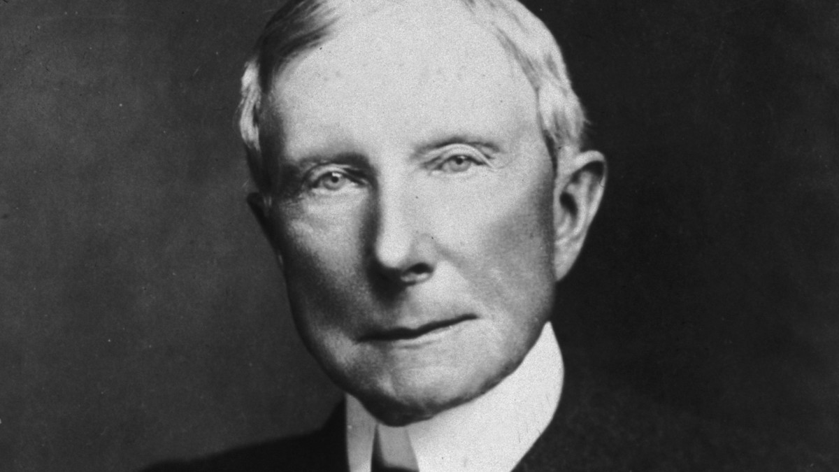 Tycoon John D. Rockefeller Couldn't Hide His Father's Con Man Past