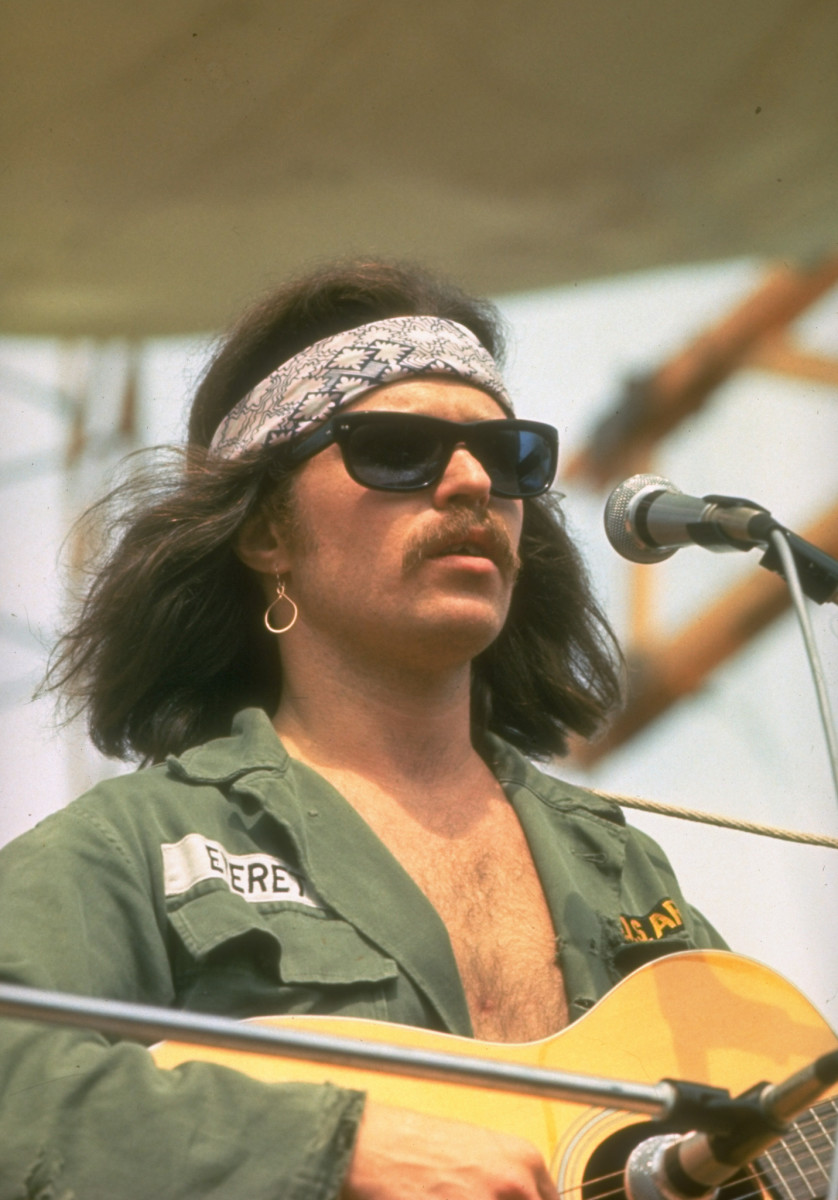 Country Joe and the Fish at Woodstock