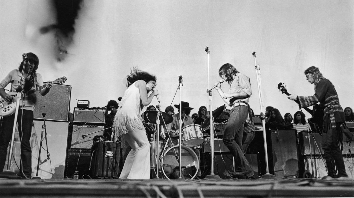 Jefferson Airplane at Woodstock