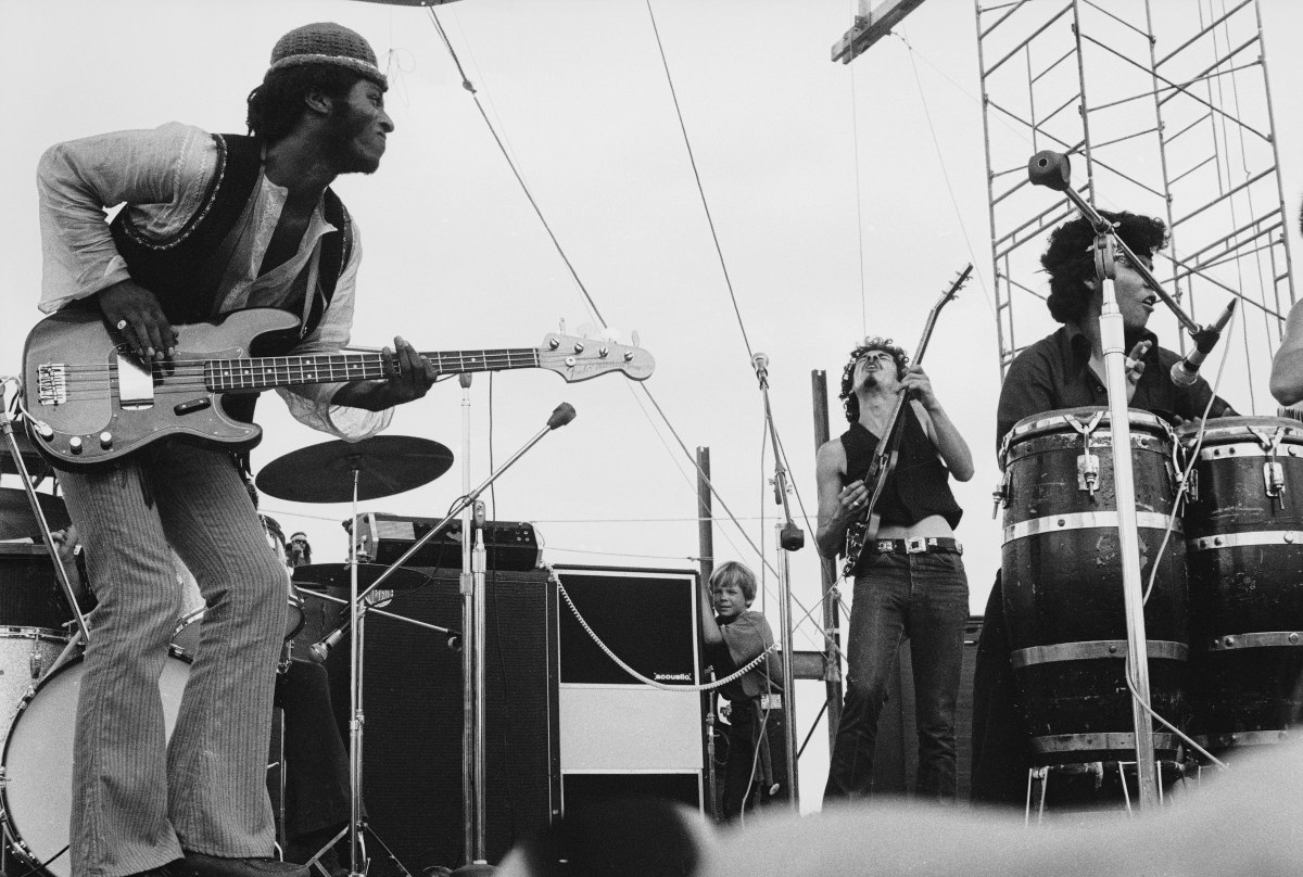 Santana at Woodstock