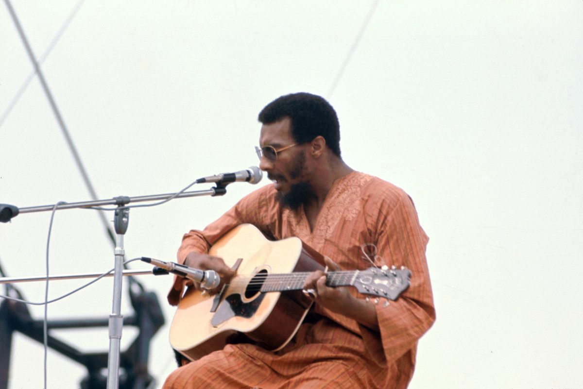 Richie Havens at Woodstock