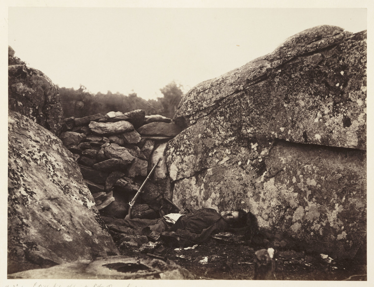 Photographs of the Battle of Gettysburg