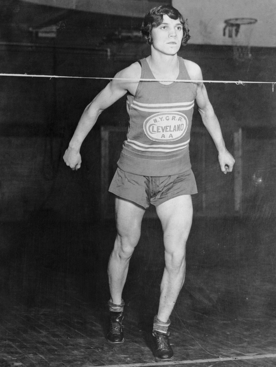 Olympic gold medalist runner Stanisława Walasiewicz, who went by Stella Walsh.