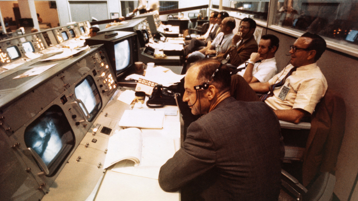 Apollo 11 Mission Operations Control Room