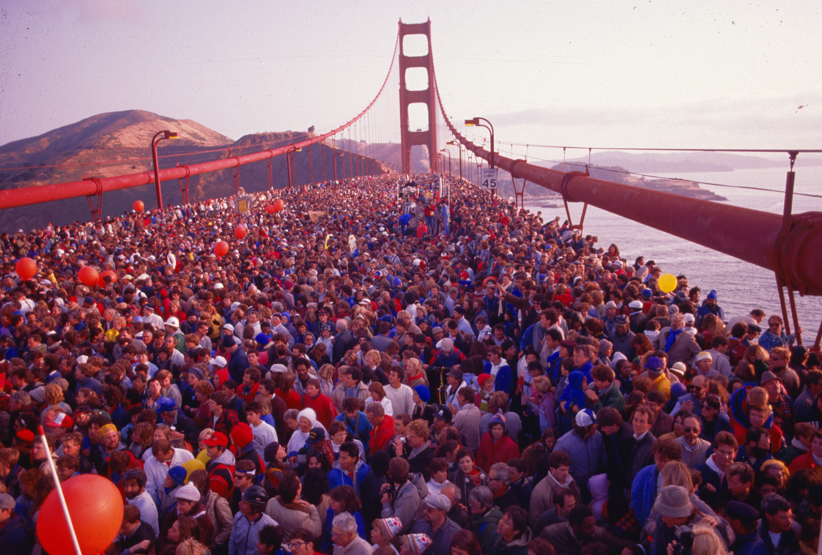 Golden Gate Bridge 50th Anniversary