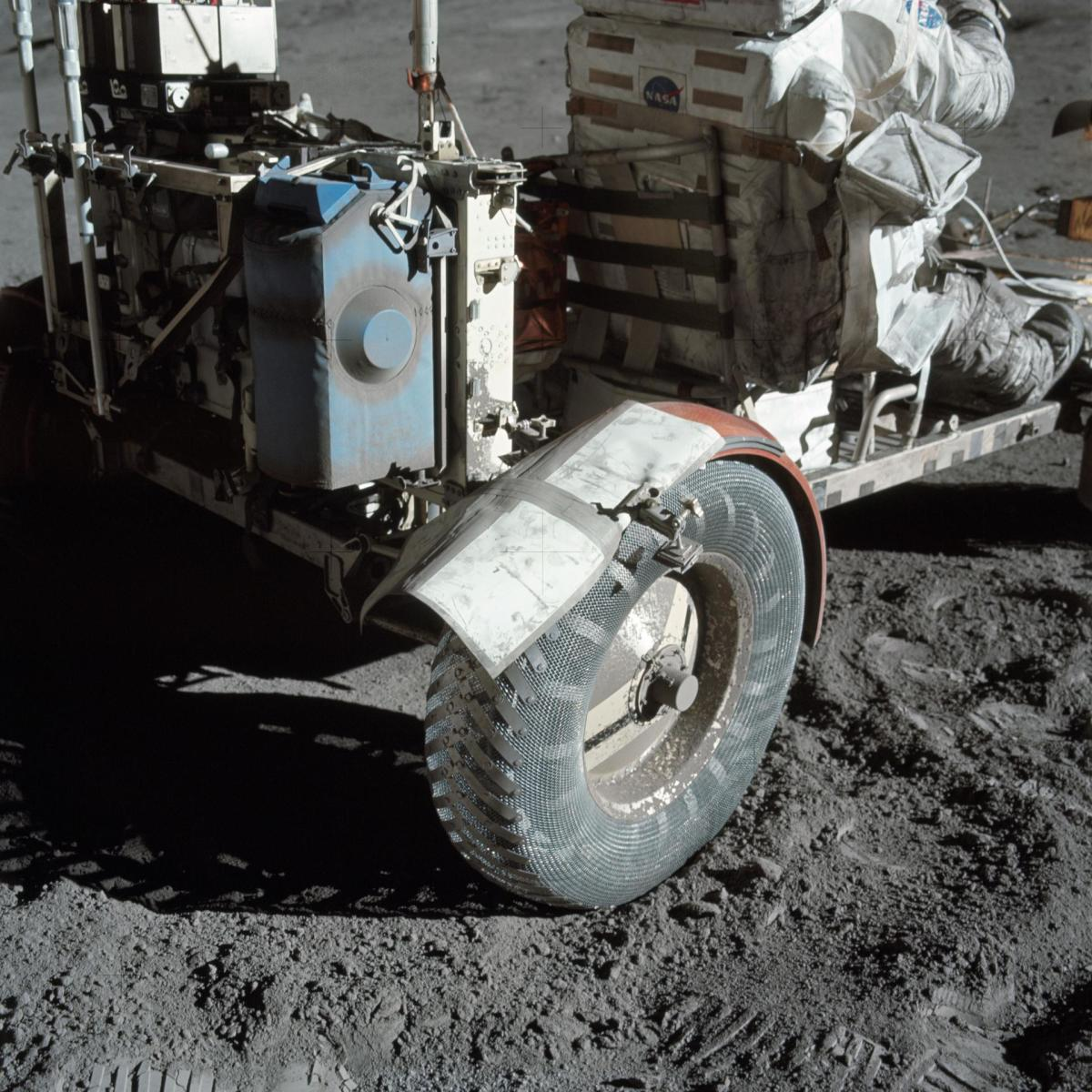 Apollo Lunar Rover Vehicle