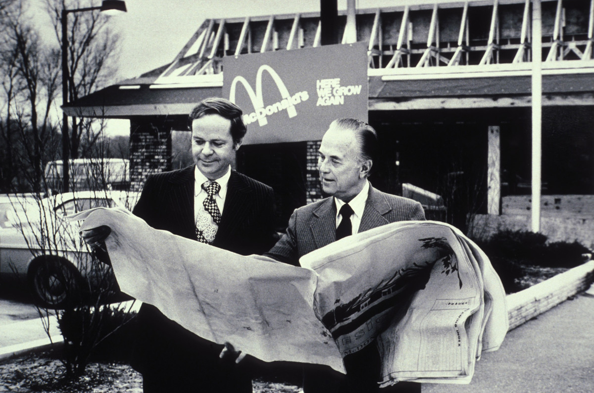 Roy Kroc of McDonalds