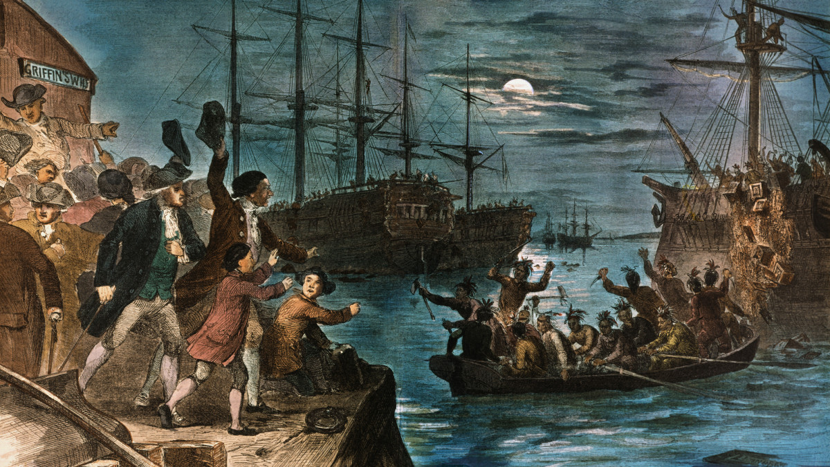 HISTORY: The Boston Tea Party