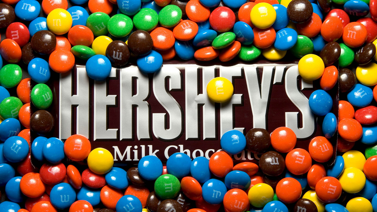 M&M's and Hershey