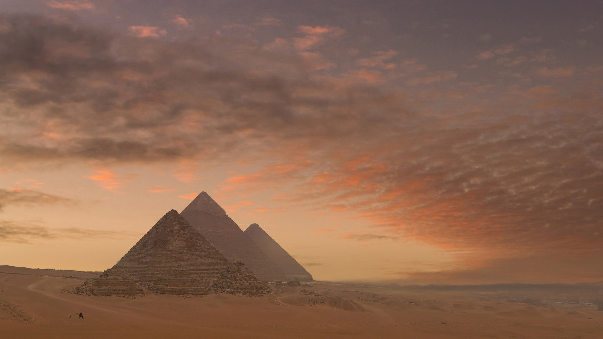7 Wonders of the Ancient World:The Great Pyramids of Giza