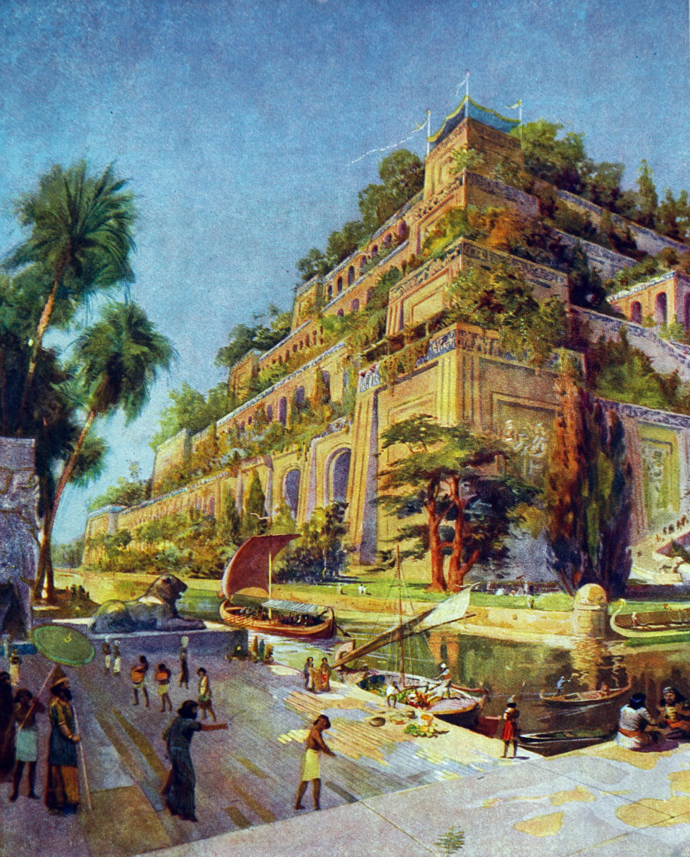 7 Wonders of the Ancient World: The Hanging Gardens of Babylon