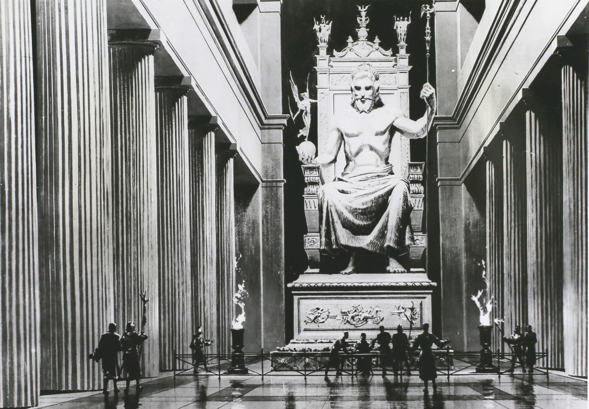 7 Wonders of the Ancient World: Statue of Zeus at Olympia
