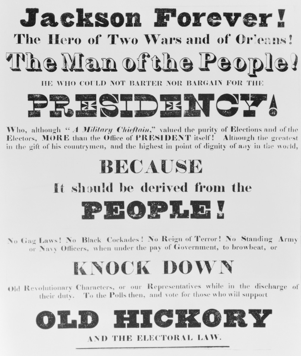 Andrew Jackson's campaign for President