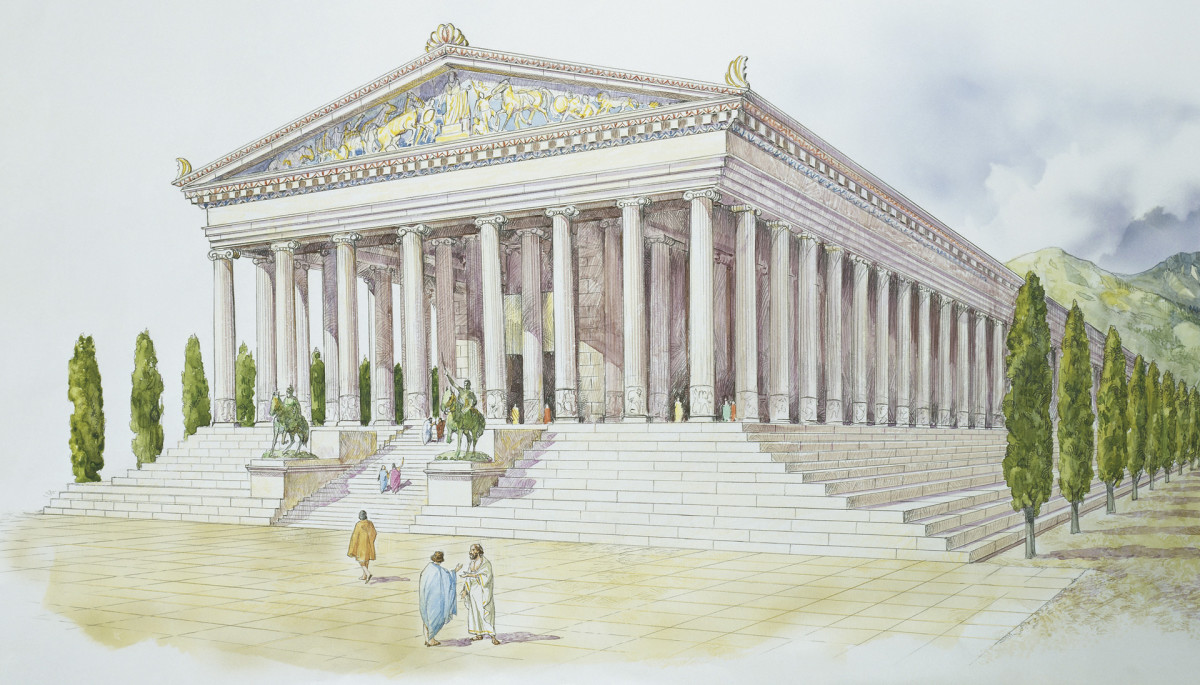 7 Wonders of the Ancient World: The Temple of Artemis at Ephesus