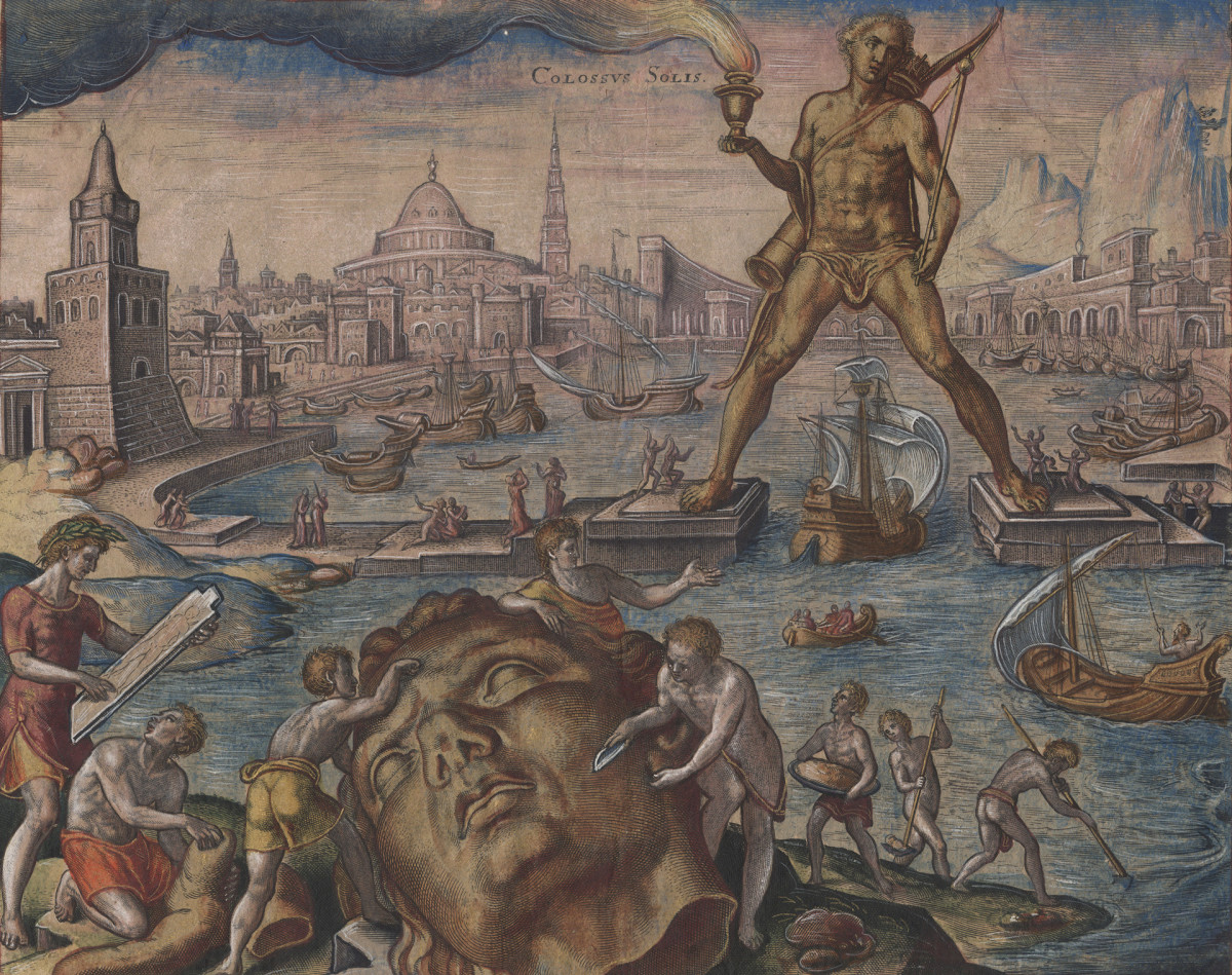 7 Wonders of the Ancient World: Colossus of Rhodes