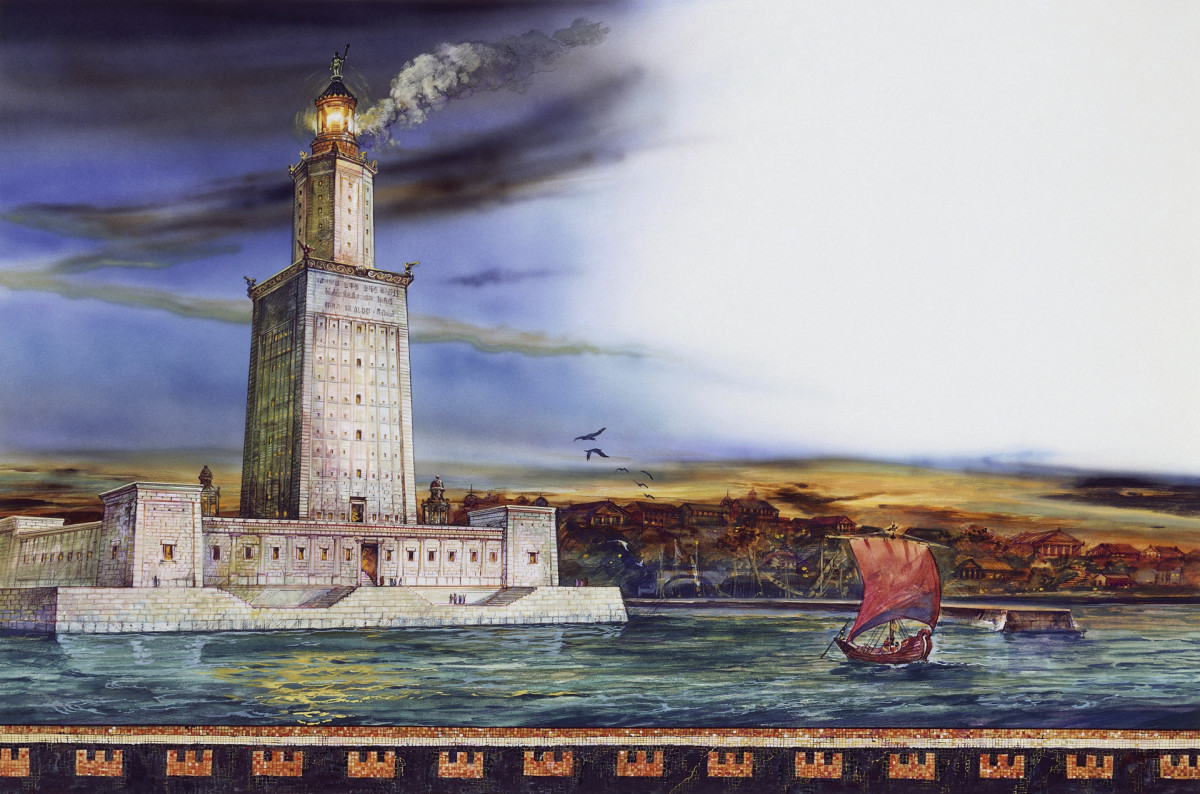 7 Wonders of the Ancient World: The Lighthouse of Alexandria