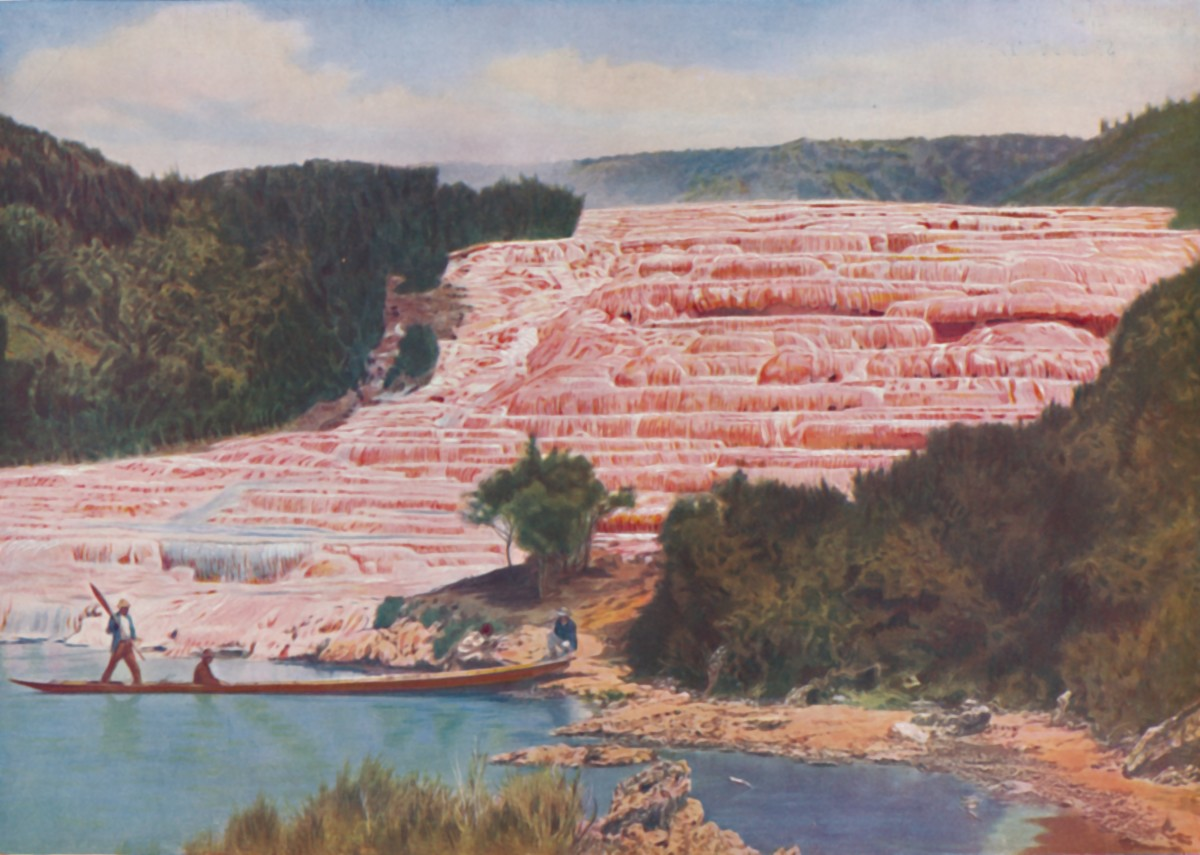 Wonders of the World: The Pink & White Terraces