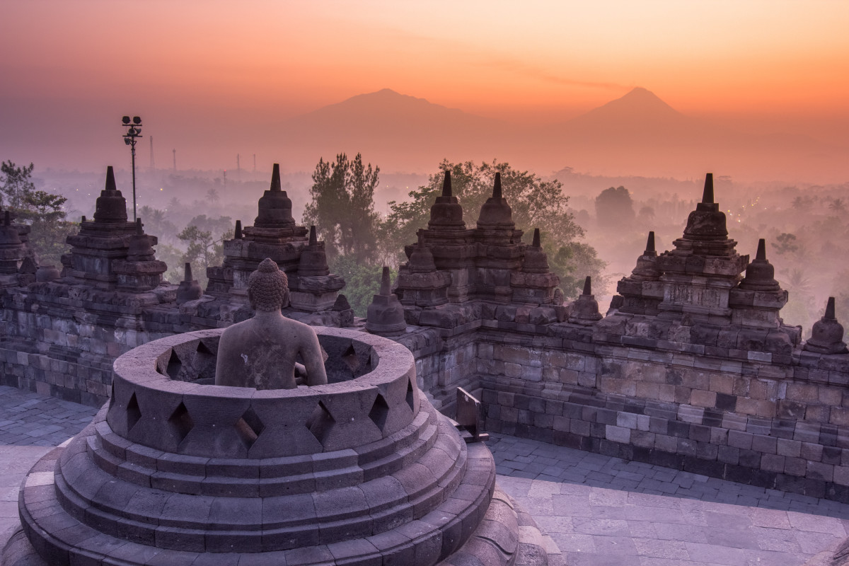 Wonders of the World: Borobudur