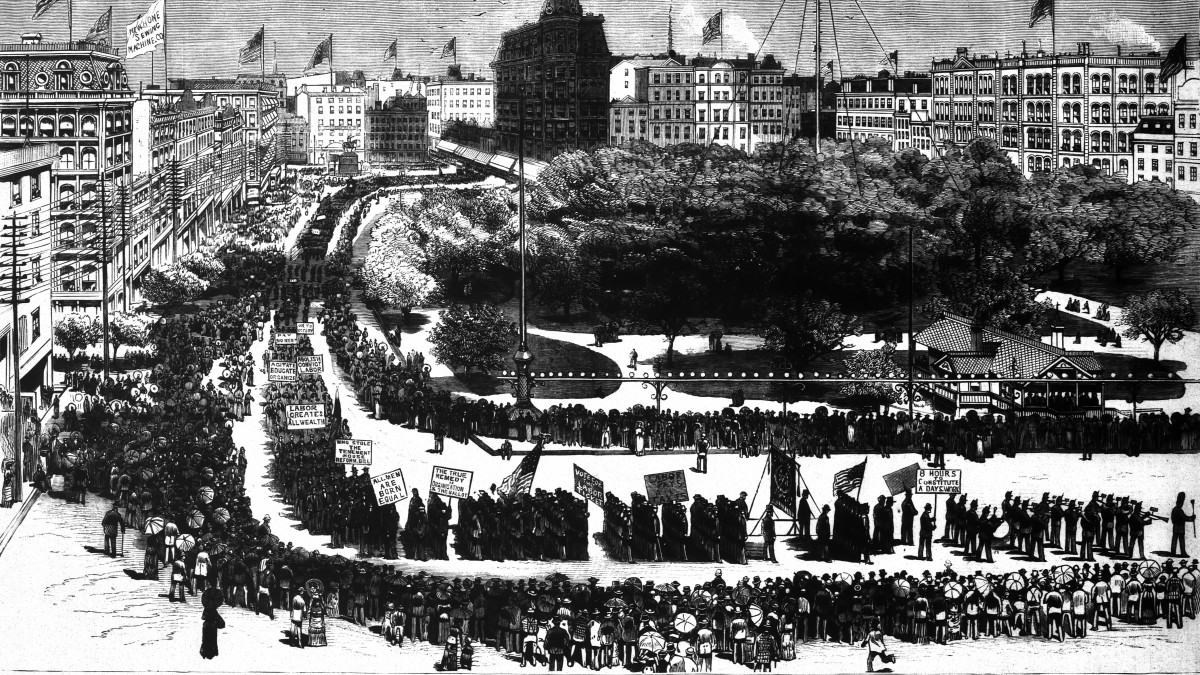 The First Labor Day Parade, September 1882