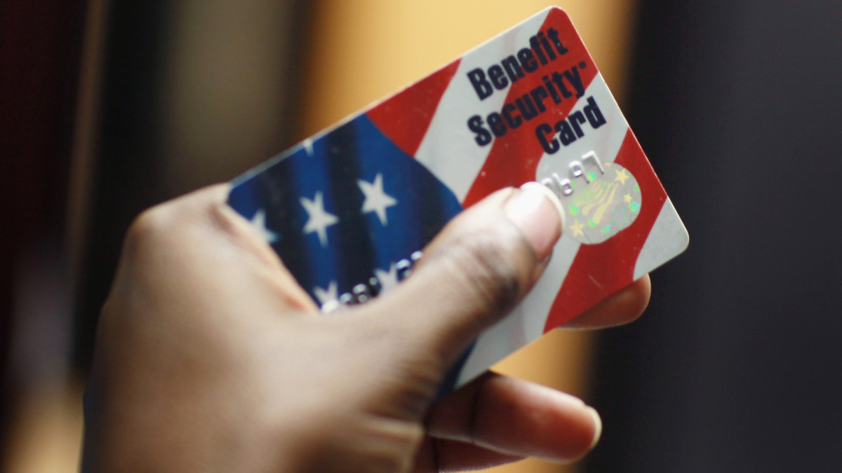 Food Stamps SNAP Card