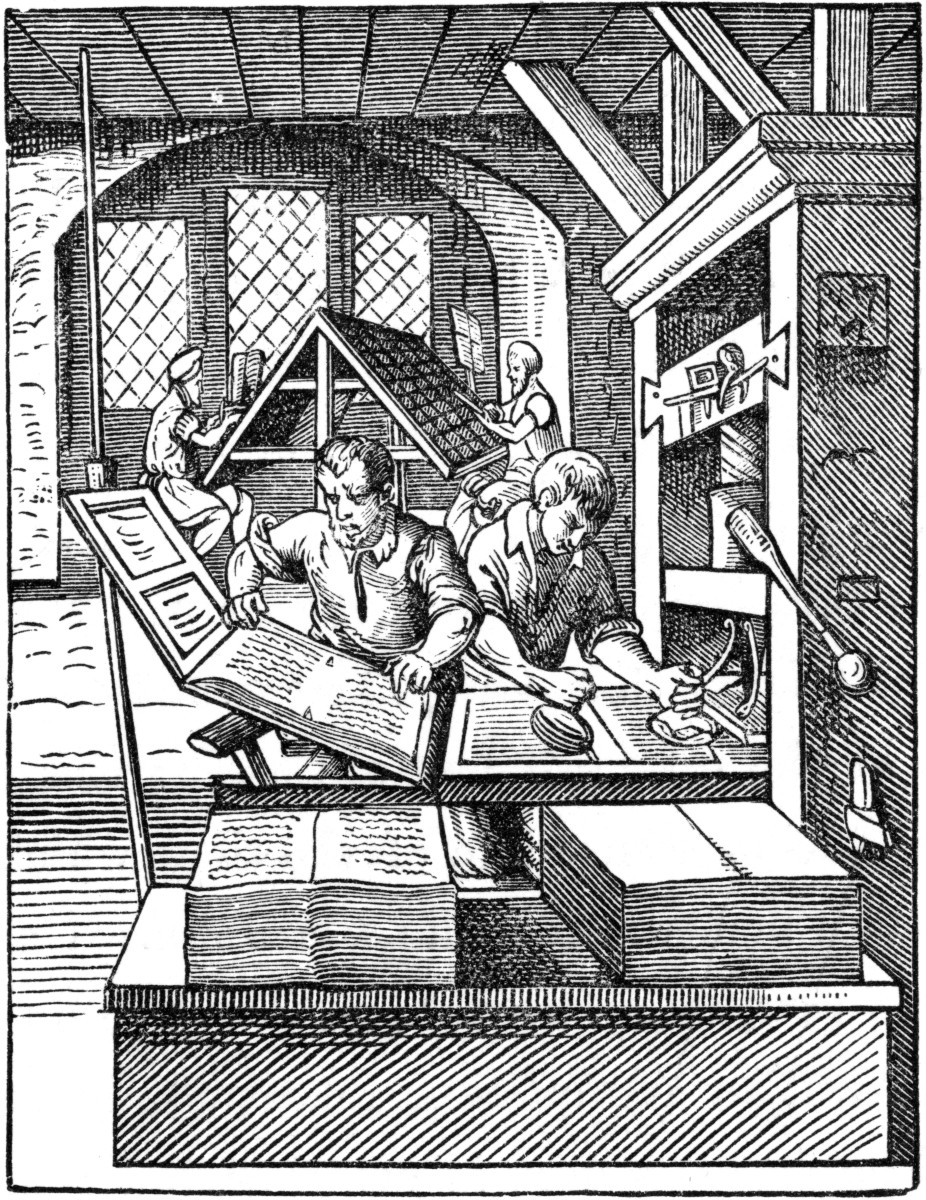 The History of the Printing Press during Protestant Reformation