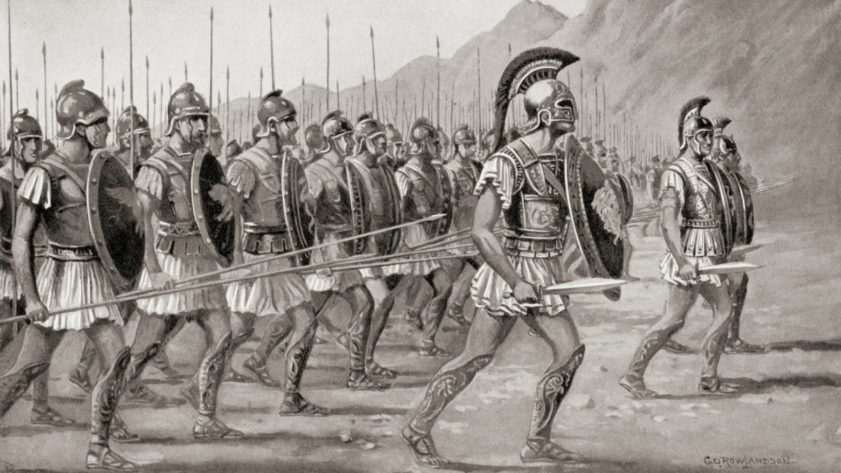 Macedonian Army developed by Philip II